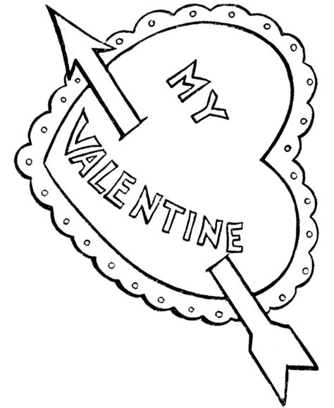 coloring pages of big hearts valentines day pictures for kids coloring home