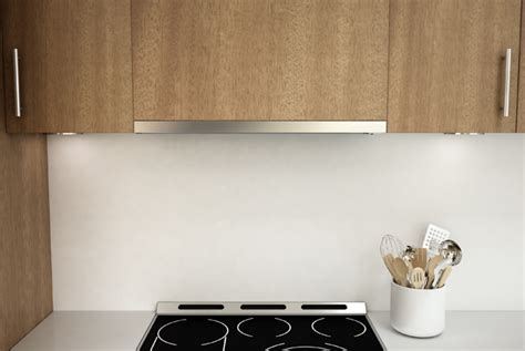 low profile under cabinet range hood an ultra low profile range hood fine homebuilding