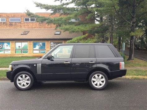 tan land rover sell used 2006 land rover range rover 73k miles rear