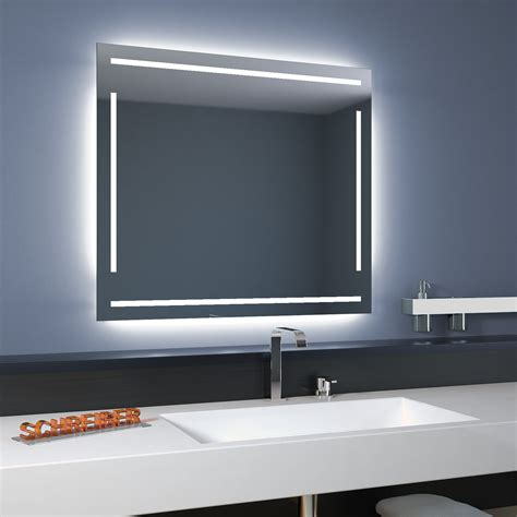 spiegelle led badspiegel linea led 4s moderne led len