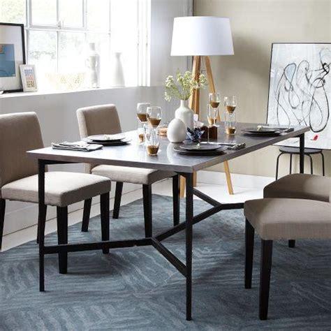 stainless steel table top metal top dining room table mix match table metal base stainless steel top