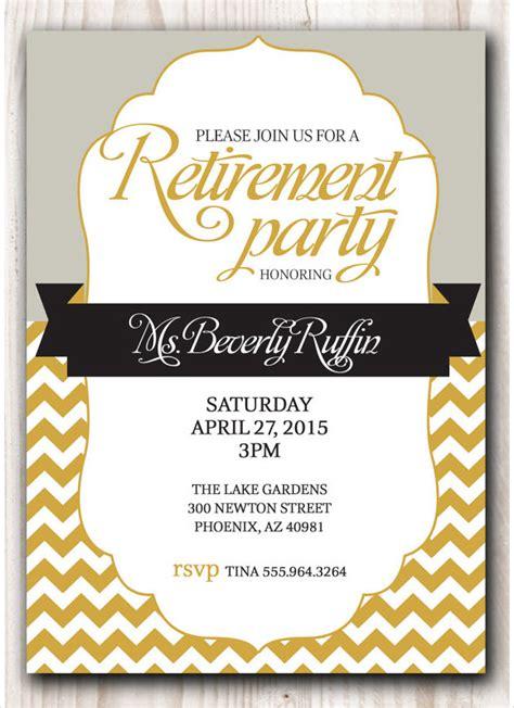 Retirement  Ee  Invitation Ee   Premium Download