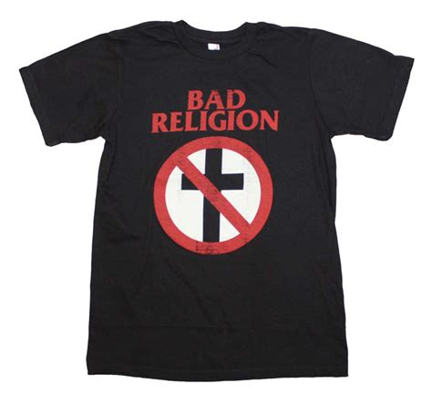 Tshirt Bad Religion Item bad religion distressed crossbuster t shirt