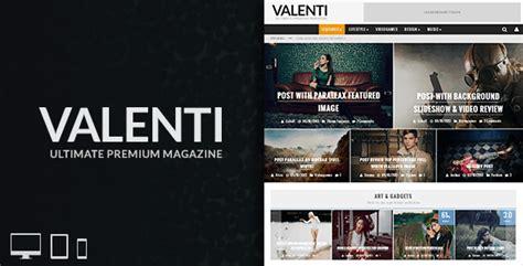theme wordpress valenti valenti wordpress hd review magazine news theme