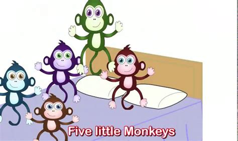 five little monkeys jumping 0547896913 five little monkeys jumping on the bed nursery rhyme youtube youtube