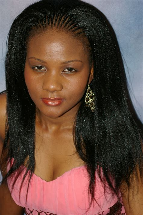 pictures of celebrity hair style and weavon name in nigeria braid hair styles glamorous braided hairstyles weave