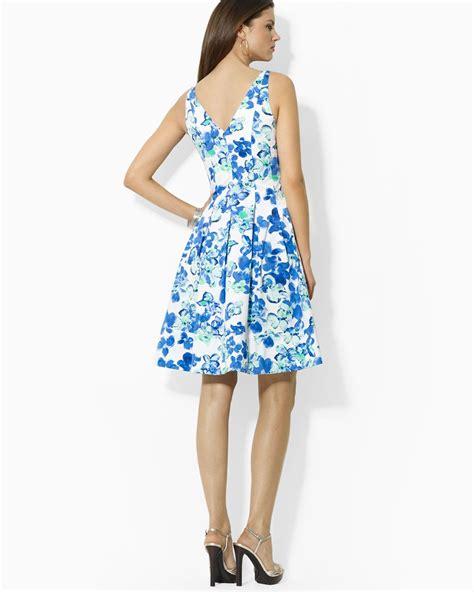 Muddy Floral Print Dresses by Lyst Ralph Dress Refreshing Floral Print