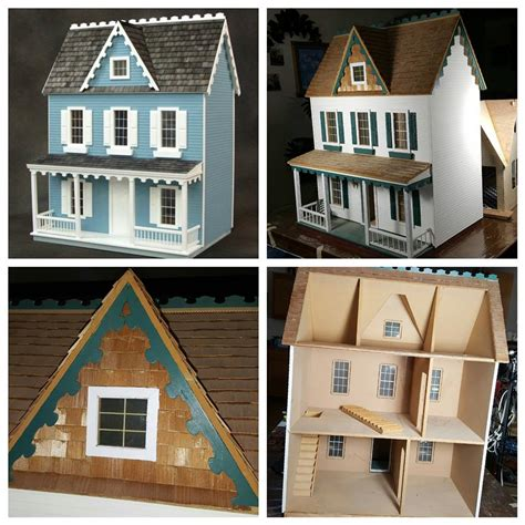 doll house makeover vermont farmhouse makeover dollhouse miniature madness and tutorials