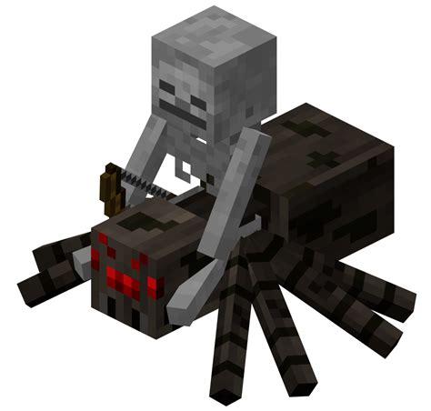 Minecraft Spider Papercraft - spider jockey official minecraft wiki
