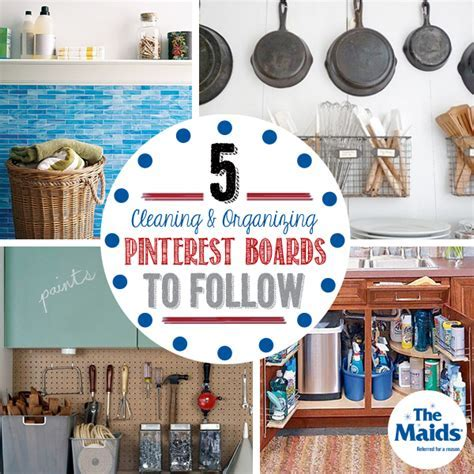 5 Cleaning & Organizing Pinterest Boards to Follow   The