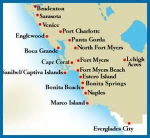 southwest florida map my florida