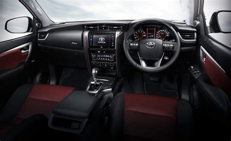 interior new fortuner 2018 2018 toyota fortuner specs engine options and price
