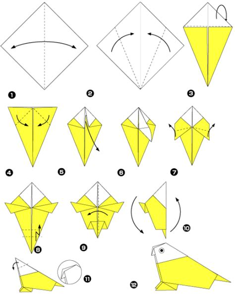 origami bird make easy origami