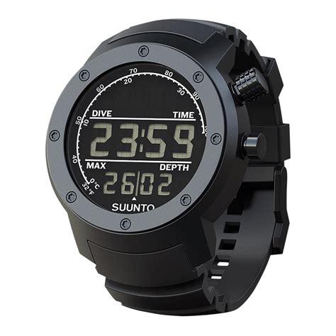 suunto dive watches suunto elementum aqua black rubber display sports