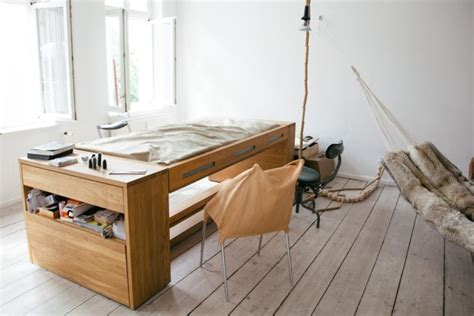 transforming furniture workbed flips from desk to bed
