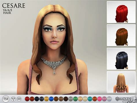custom hair for sims 4 non default sims 4 nexus