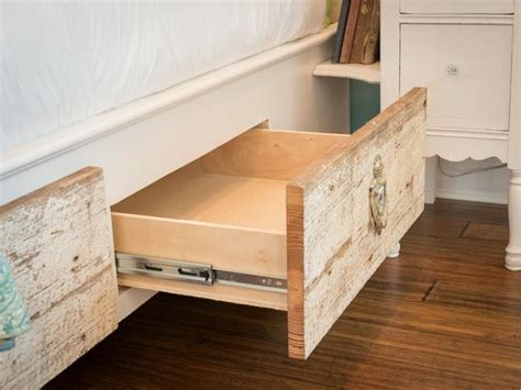 image diy bed storage drawers