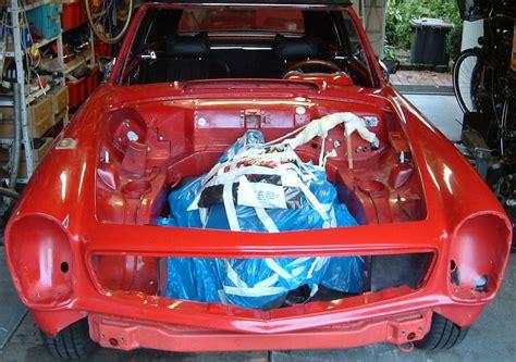 Motor Lackieren Vorbereiten by Mercedes Pagode W 113 Motorraum Restaurieren