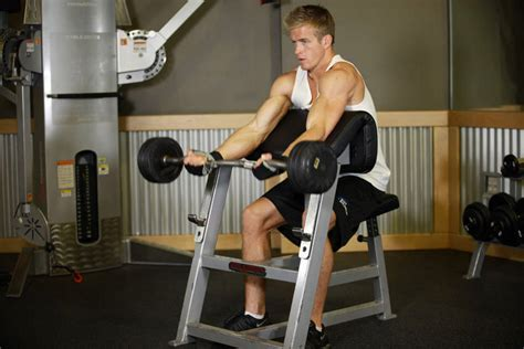preacher bench exercises preacher curl exercise guide and video
