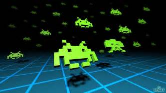 3d space invaders wallpaper wallpaper
