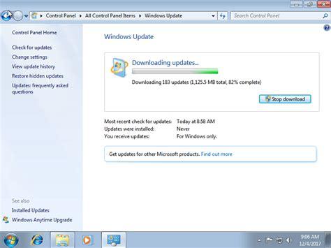 updating integration components over windows update ben