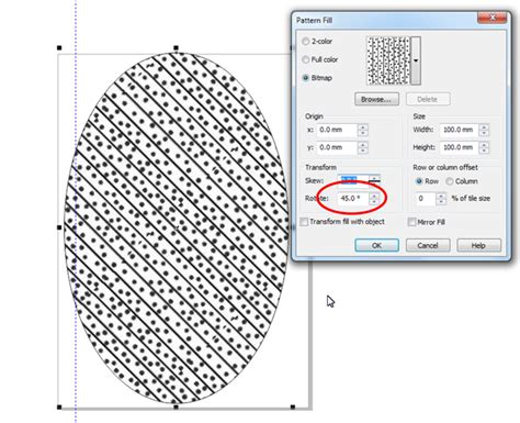 corel bitmap pattern diagonal lines pattern coreldraw x6 coreldraw graphics