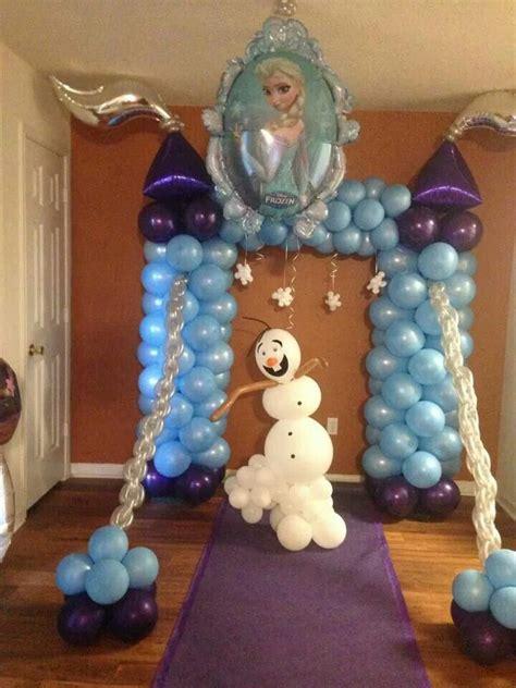 arreglos con globos de frozen decoracion con globo frozen 37 curso de organizacion