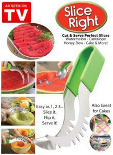 Watermelon Cutter Slice Right Tv Amc slice right cut and serve watermelon slices
