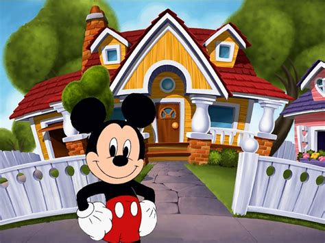 mickey mouse house mickey mouse house cartoon