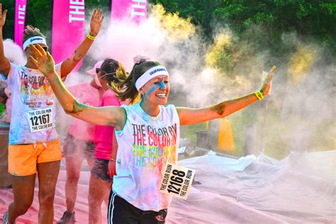 how to organize a color run the color run and a discount code organize and decorate