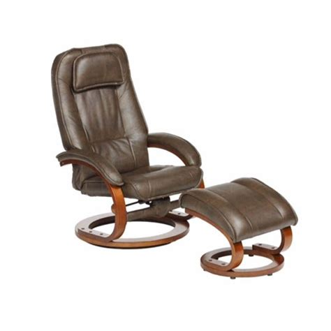 Recliners Bernie And Phyls by Toast Walnut Swivel Recliner With Ottoman Bernie And
