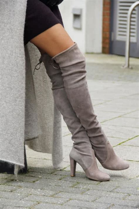 grey knee high boots 5 pairs of shoes every should in closet