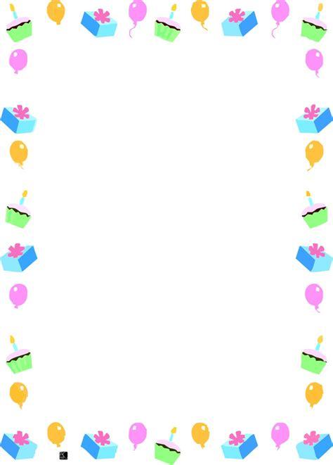 cornici per compleanno cornicette e bordi maestra con cornici da stare