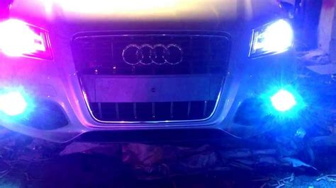 10k Hid Lights by Audi S3 Xenon S Test 15k On The Left 10k On The Right And