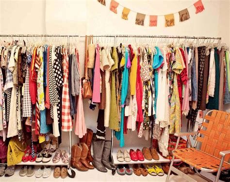 Closet Fashion Store by Home Tour Closet A Beautiful Mess