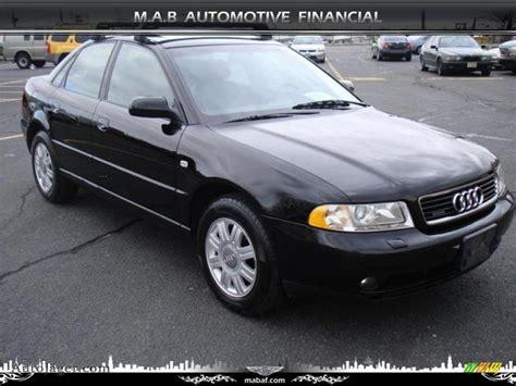 Audi A4 1 8t Black 1999 audi a4 1 8t quattro sedan in brilliant black