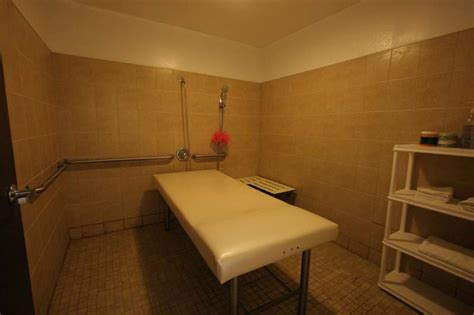 Table Showers by Moon Health Spa New Staffs Best Table Shower K
