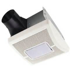 ceiling exhaust bath fan with light delta breez slim series 70 cfm wall or ceiling exhaust