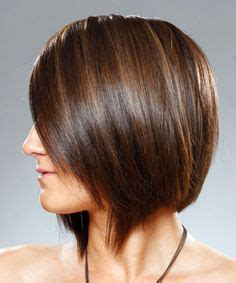 long inverted bob with a dramatic angle minimal stacking long inverted bob with a dramatic angle minimal stacking