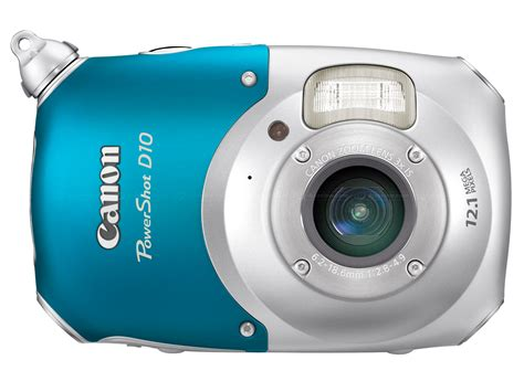 canon powershot d10 waterproof emerges digital photography review