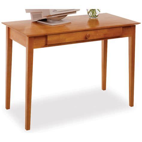 Pine Wood Desk by Honey Pine Wooden Computer Desk Winsome Wood Desks