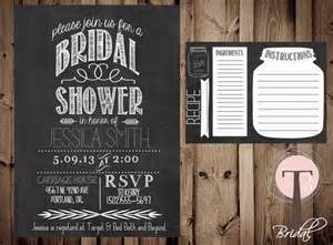 ideas for bridal shower invitations 13 bridal shower invite ideas