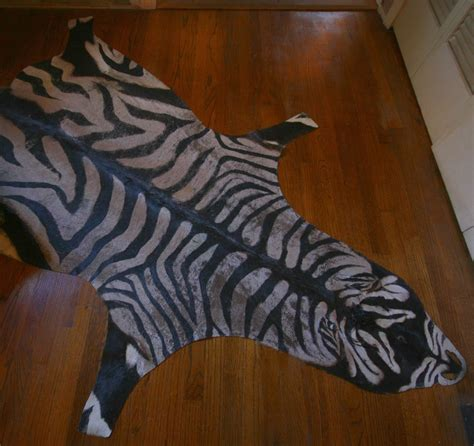 diy zebra rug the glam nomad zebra rug diy