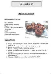 recette de cuisine sur 2 la recette mimiclass
