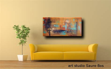 quadri per arredamento moderno quadri astratti 120x60 per arredamento moderno sauro bos