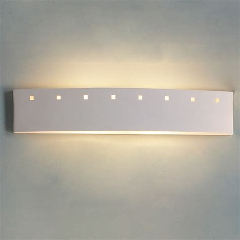 Bathroom Lighting Bar 27 5 Quot Bathroom Bar Light W Small Square Cut Outs
