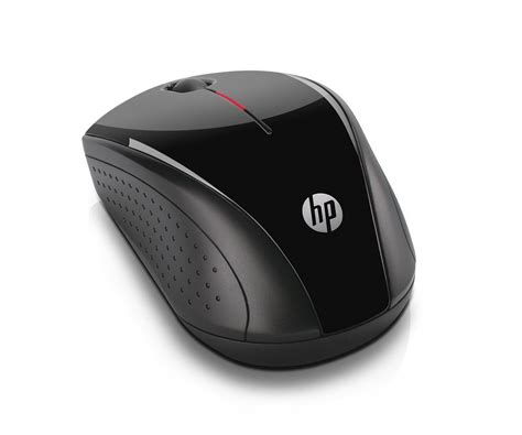 Mouse Hp X3000 hp x3000 wireless mouse black h2c22aa
