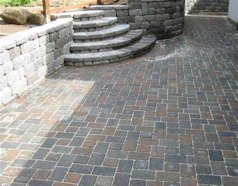 Cheap Pavers For Patio Interlocking Paving Stones Work By Sunset Landscape Santa California