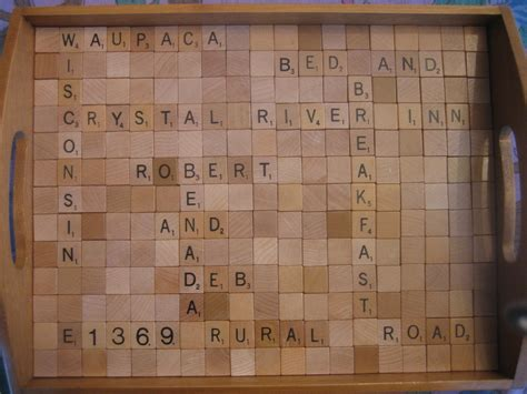 rev scrabble scrabble gift proof of our great guests river inn