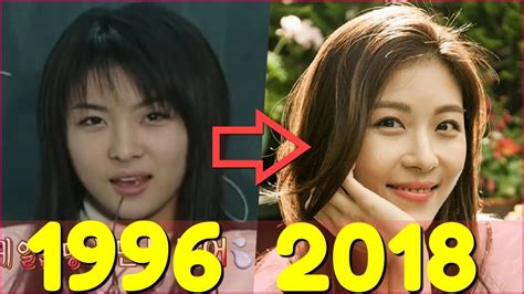 so ji sub ha ji won ha ji won evolution 1996 2018 youtube